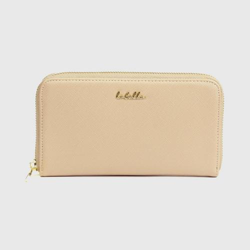 LABELLA CLASSIC WALLET - TAUPE
