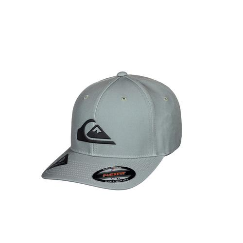 QUIKSILVER GREEN AMPED UP FLEXFIT CAP