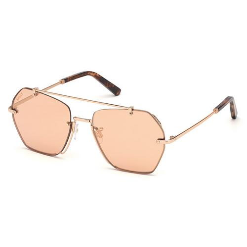 BALLY Pink Flash Rose Gold Lens 57mm BY0011-H