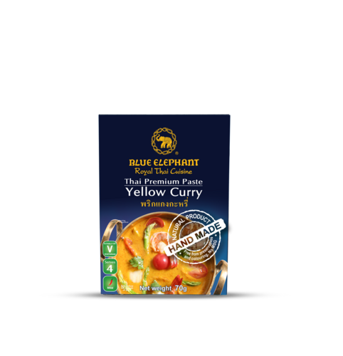 BLUE ELEPHANT YELLOW CURRY PASTE 70G.
