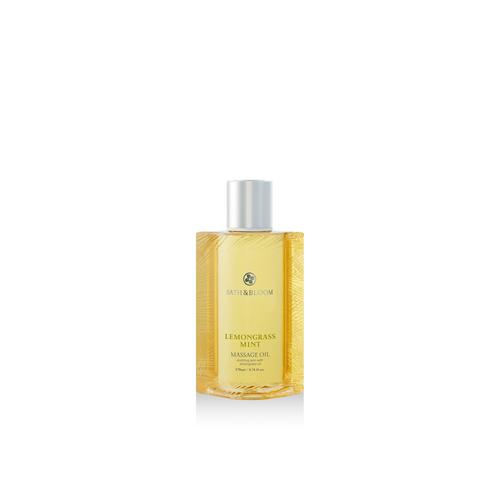BATH&BLOOM LEMONGRASS MINT MASSAGE OIL 170 ML