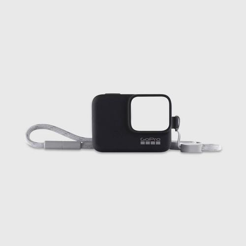 GoPro Sleeve+Lanyard - Black