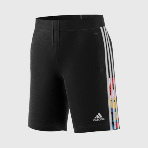 ADIDAS KIDS  B A.R.EGLE SH - BLACK Size -128 UK