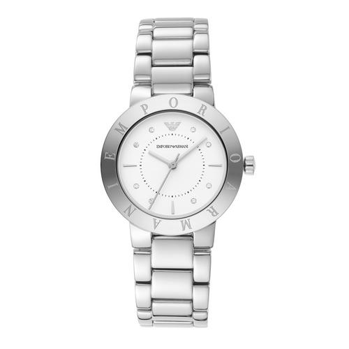 EMPORIO ARMANI Greta Analog Silver Stainless Steel Watch