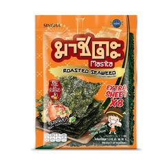 Masita Roasted Seaweed Extra Sheet 32 G Tom Yum Flavor