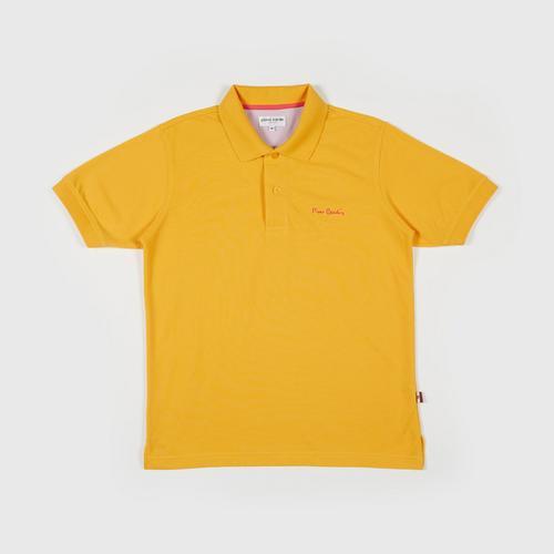 PIERRE CARDIN Polo Shirt - M YELLOW