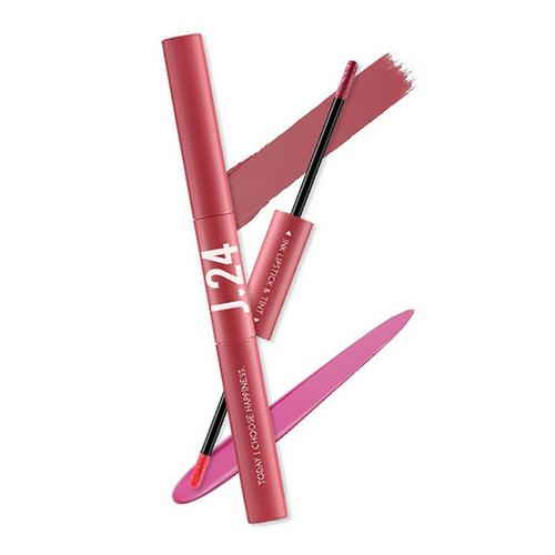 J24 Ink Lipstick & Tint 2.5g+2.5ml #Angel J