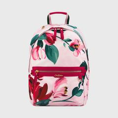 Cath Kidston Aster Backpack Large Paintbox Flowers Light Pink
