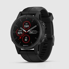 GARMIN Fenix 5S Plus Saphire - Black with Black band