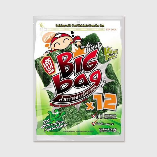 Taokaenoi Grilled Seaweed Classic Flavour (Big Bag Brand)