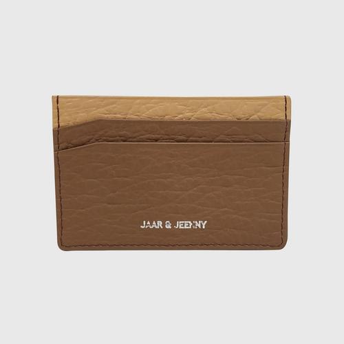 JAAR & JEENNY NAME CARD HOLDER  - 2 TONE COLOR