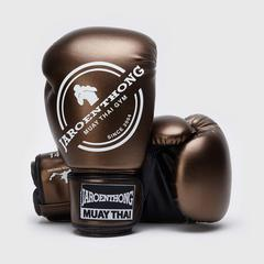 MUAY THAI STREET Boxing size 14 OZ. - Brown