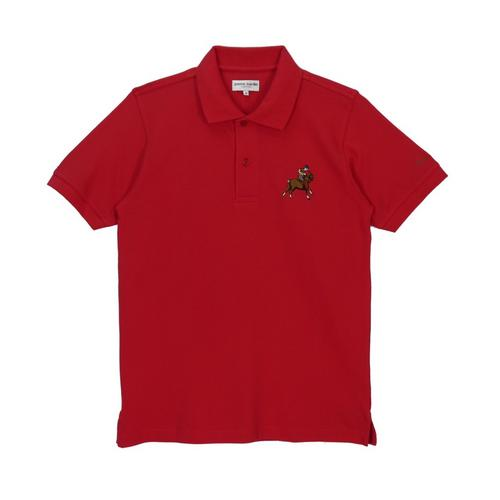 PIERRE CARDIN Knitted Polo Shirt Red - Size M