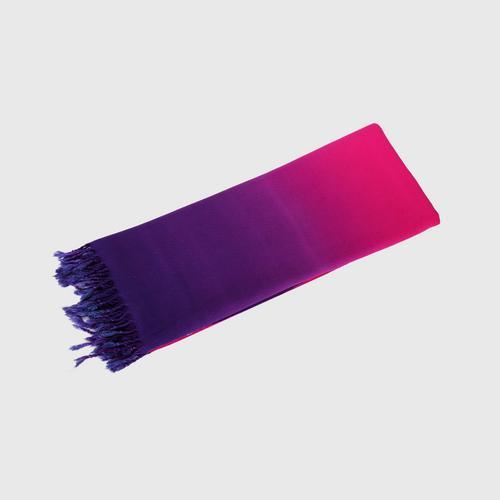 BAI MONE - Crystal Ball Khit Shawl  Purple-Pink Size: 70 x 180 cm.