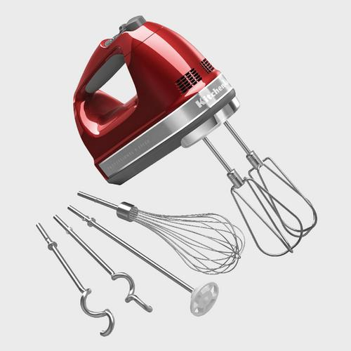KitchenAid 厨师机Hand Mixer 9 Speed - Empire Red