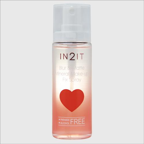 IN2IT Blur & Matte Mineral Make-up Fix Spray  BMF 50ml.