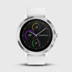 GARMIN Vivoactive 3  运动手表 White & Stainless 43.0克