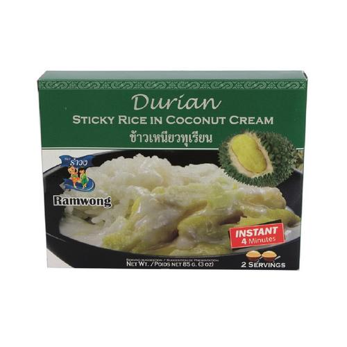 RAMWONG DURIAN STICKY RICE IN COCONUT MILK