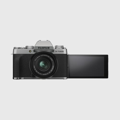 Fujifilm X-T200 Kit 15-45 mm. Silver