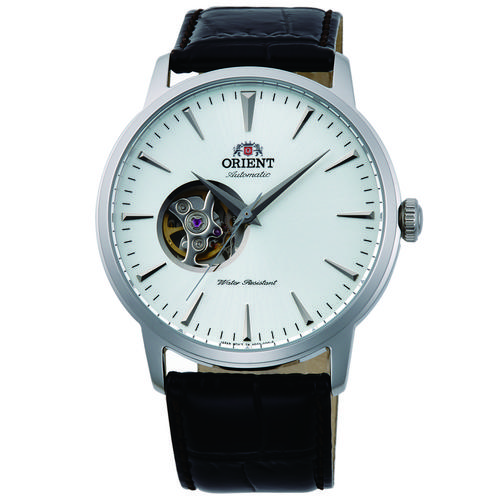 ORIENT Mechanical Contemporary Watch, Leather Strap 41.0mm (AG02005W)