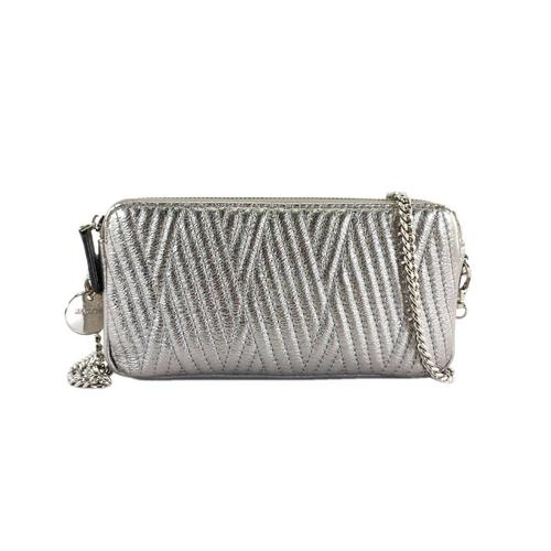 JACOB HANDBAG  (D-SILVER)