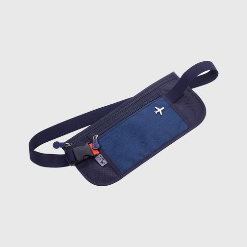 TROIKA BLB20-DB Belt bag RFID - Dark Blue