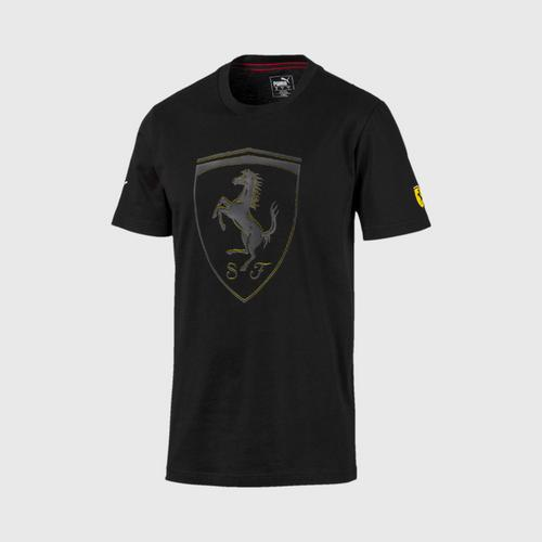 PUMA Men's T-Shirt SF Big Shield Puma Black Size : S