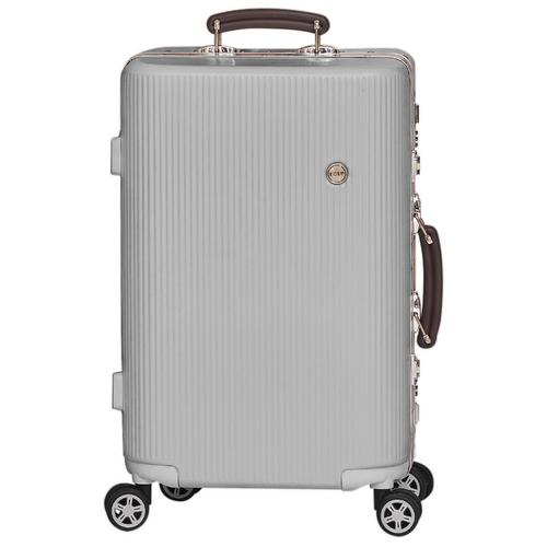 COVE Luggage Sapphire Series Gentry Silver 20""
