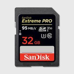 SANDISK EXTREME PRO® SDHC™/SDXC™ UHS-I MEMORY CARDS-32GB