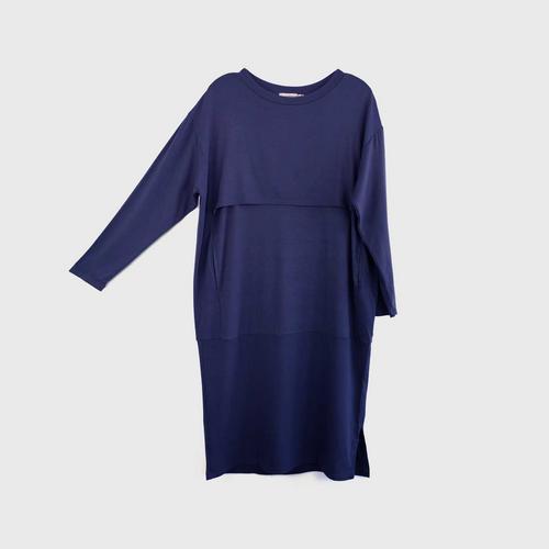 NITAN Winter Calling Signature Dress S Midnight blue