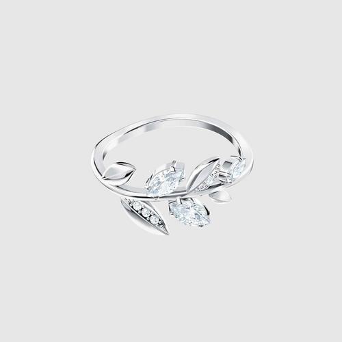 SWAROVSKI Mayfly Ring, White, Rhodium plating - Size 55