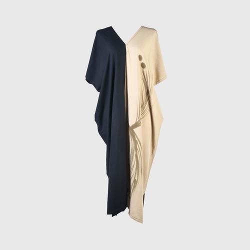 AL-HAMEEN BATIK  Casual wear batik (Hill tribe style) -  Black/cream