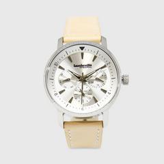 Lambretta Watch Imola36 Silver Leather Natural