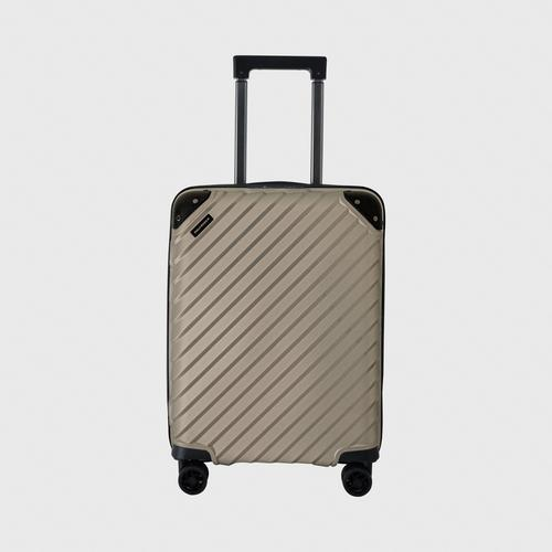 "POLO WORLD Luggage PW410 20"" Gold"