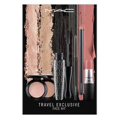 MAC 旅行独享:面部套组(冷色) Small Eyeshadow x2 / 1.3 g / 0.04 US oz; Lipstick x3 /3.0 g; Lip Pencil / 1.45 g / 0.05 US oz; Techakohl Liner / 0.35 g /0.012 US oz; In Extreme Dimension Lash / 13 ml / .44 US fl oz