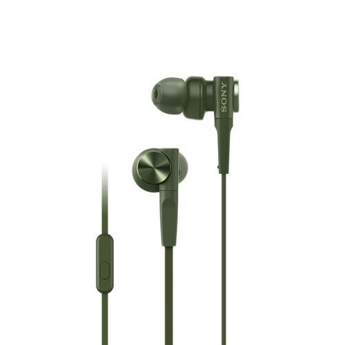 Sony MDR-XB55AP EXTRA BASS™ In-ear Headphones Green
