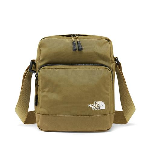 北面 (THE NORTH FACE) 斜挎包 WOODLEAF BRITISH KHAKI-TNF WHITE