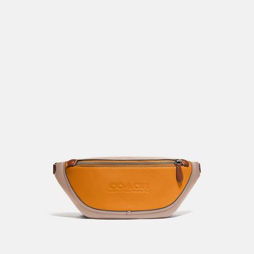 蔻驰COACH League Belt Bag in Colorelock - Spice Orange Multi