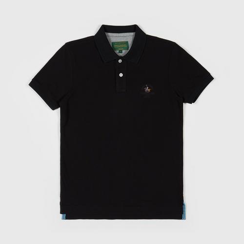 SANTA BARBARA Polo Shirt  BLACK SIZE S