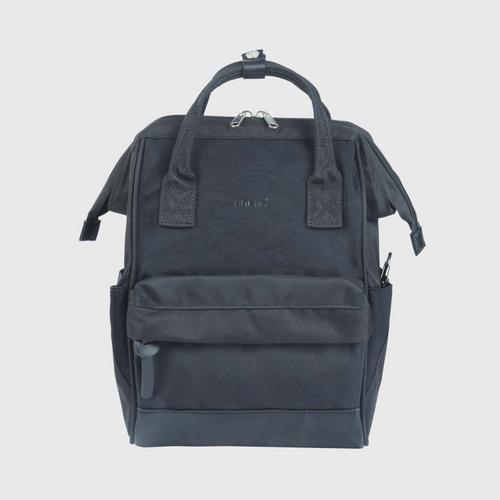 ANELLO OS-S056-NOSTALGIC Mouthpiece Small Backpack-BLACK