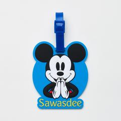 Disney Mickey Mouse Sawasdee Luggage tag