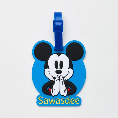 Disney Mickey Mouse Sawasdee Luggage tag