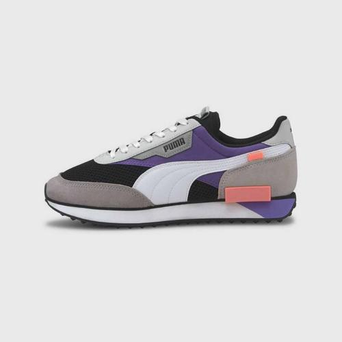 PUMA Future Rider Galaxy - Black-Ultra Violet Size 3 UK