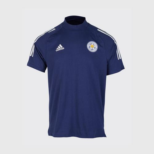 Leicester City Football Club CON20 TEE Navy blue/White Colour Size S