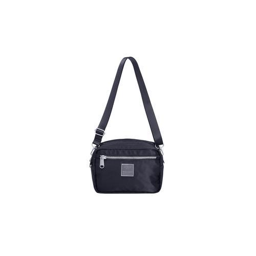 ANELLO ATT0507-SIENA Square Mini Shoulder Bag-BK