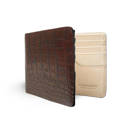 CONTAINER REGULAR WALLET  BROW