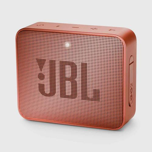 JBL GO 2 Portable Bluetooth Speaker (Cinnamon)