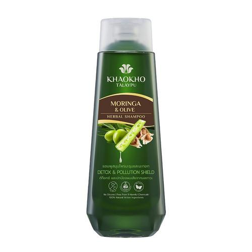 KHAOKHO TALAYPU Moringa And Olive Shampoo 330ml