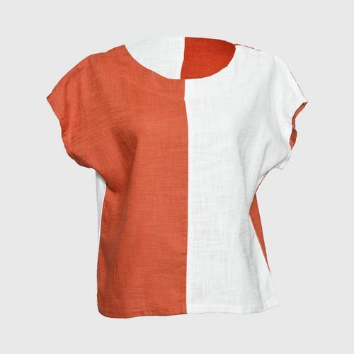 RAPINPORN COTTON - Gam Linen Cotton Padded Shirt Size 36