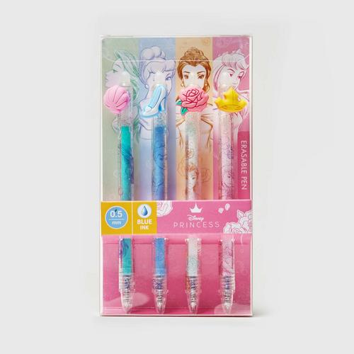 Disney Princess Erasable Pen Pack x4PCS (PRC-1820-4)